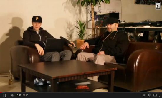 Crak im Interview auf Mixery Raw Deluxe Teil 1/2 (Hip Hop TV Magazin)